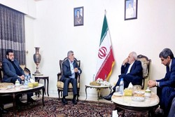 Iran foreign minister meets with Hamas members in Beirut