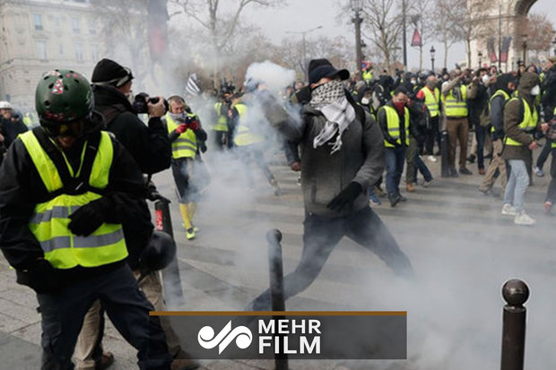 26th week of Yellow Vests protests in France