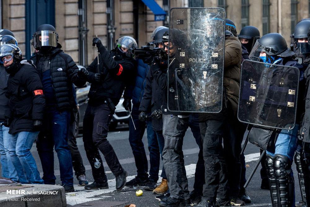 سیزدهمین شنبه اعتراضات در فرانسه