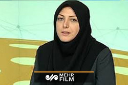 اولین حضور خبرنگار صدا و سیما در راهپیمایی ۲۲ بهمن