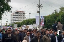 ایران کے مختلف صوبوں میں 22 بہمن کے دن شاندار ریلیاں - 1