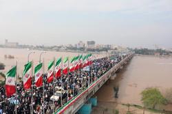 راهپیمایی حمایت از امنیت در اهواز آغاز شد