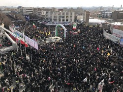 جشن ۴۰ سالگی در تبریز/ حماسهای به عظمت تاریخ آذربایجان رقم خورد