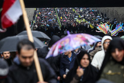 Massive Revolution anniversary rallies in Tehran