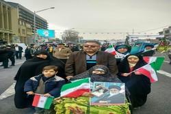حاشیه های راهپیمایی ۲۲ بهمن در ارومیه/سرما مانع حضور نشد