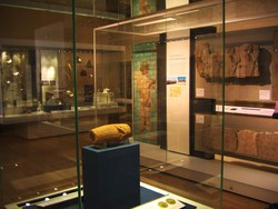 Cyrus Cylinder and other magnificent relics of ancient Persia on display at Room 52 of the British Museum, London
