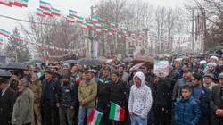 بارش برف و سرما هم مانع راهپیمایی پرشور در استان تهران نشد