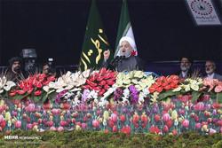 دیدار اعضا ستاد مراسم چهلمین سالگرد انقلاب اسلامی با رییس جمهور