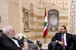 ظریف با سعد الحریری دیدار و گفتگو کرد