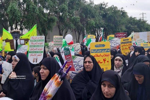 راهپیمایی ۲۲ بهمن بوشهر