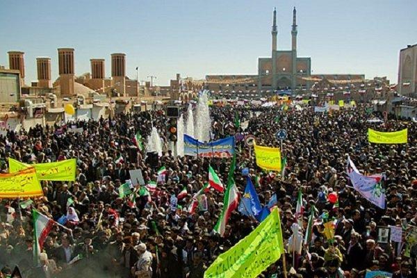 حسینیه ایران ۲۲ بهمن را به جشن نشست