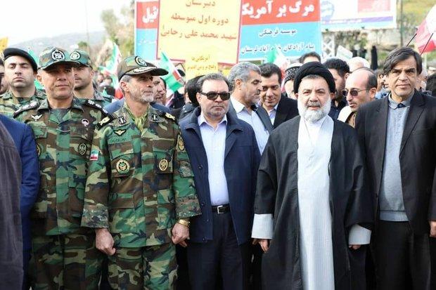 حضور آگاهانه و با شکوه مردم در جشن چهلمین سال پیروزی انقلاب