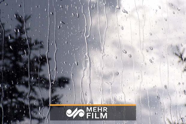 بارش پراکنده در اکثر نقاط کشور
