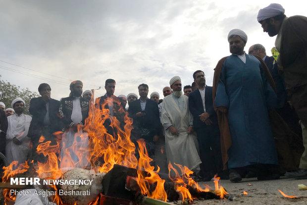 راهپیمایی ۲۲ بهمن در قشم