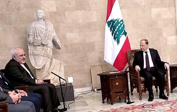 Lebanese president congrats Iran on Islamic Revolution anniv.