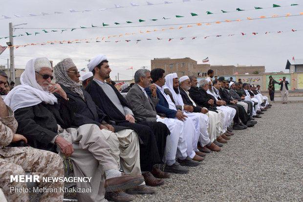 راهپیمایی ۲۲ بهمن در شهرستان مهرستان استان سیستان و بلوچستان