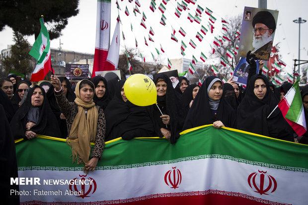 راهپیمایی ۲۲ بهمن در اراک