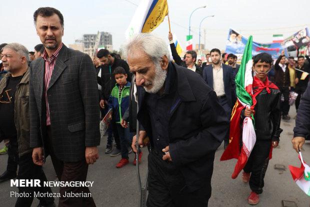 راهپیمایی ۲۲ بهمن در اهواز