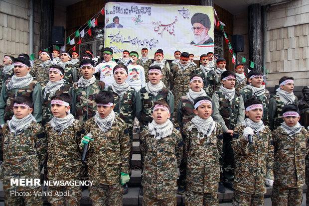 احتفالات الذكرى الأربعين لانتصار الثورة الإسلامية في تبريز