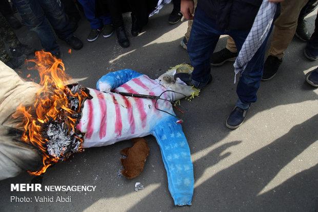 راهپیمایی ۲۲ بهمن در تبریز