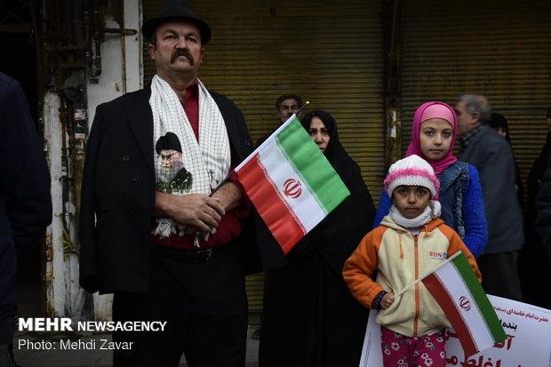 راهپیمایی ۲۲ بهمن در ارومیه