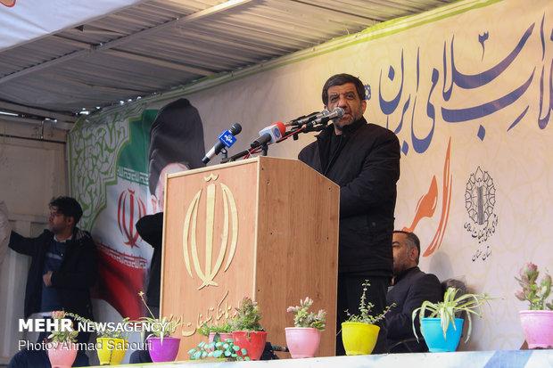 راهپیمایی ۲۲ بهمن در سمنان