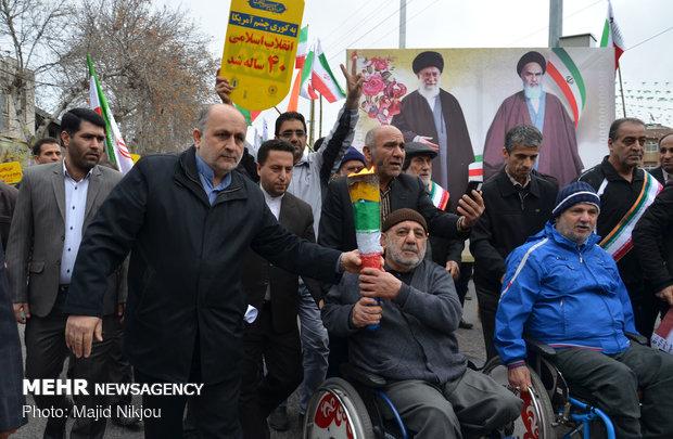 راهپیمایی ۲۲ بهمن در ساری