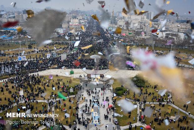 راهپیمایی ۲۲ بهمن در ۴۰ سالگی انقلاب