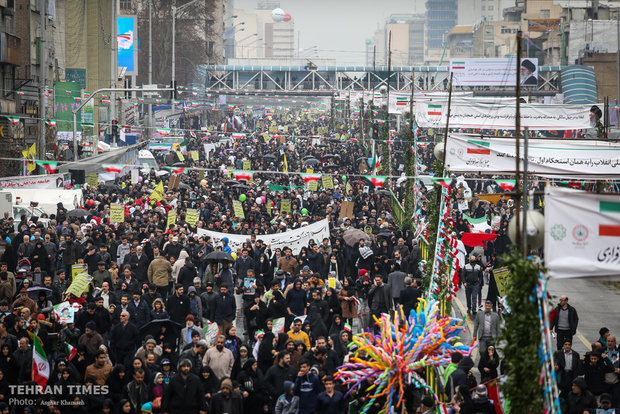 Iranians mark 40th anniversary of Islamic Revolution