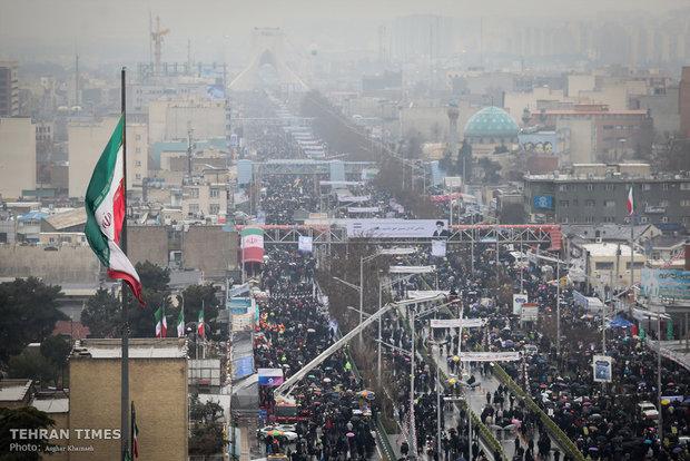 Iranians mark 40th anniversary of Islamic Revolution