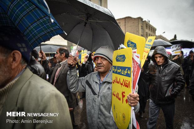 راهپیمایی 22 بهمن 1397 - شیراز
