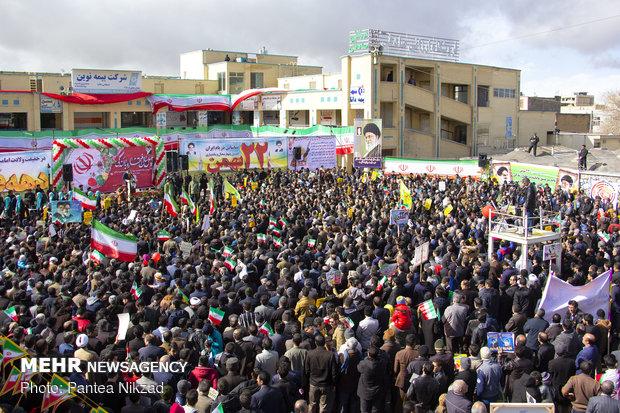 راهپیمایی ۲۲ بهمن در شهرکرد