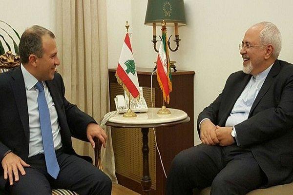باسيل: متفقون مع ظريف على الحلّ السياسي لسوريا ولن نشارك بمؤتمر وارسو