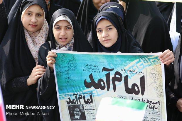 راهپیمایی ۲۲ بهمن در آبادان