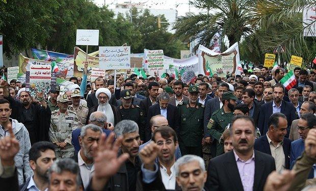 حضور حماسی مردم در راهپیمایی ۲۲ بهمن پاسخی محکم به دشمنان بود