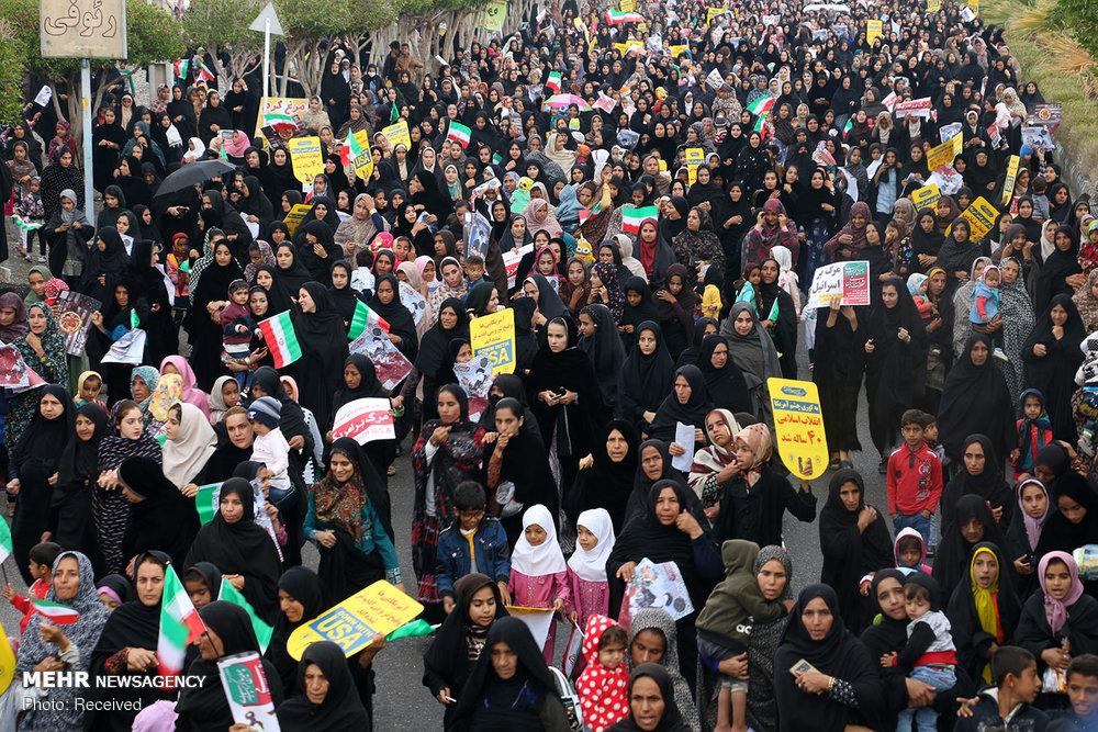 راهپیمایی ۲۲ بهمن در استان ها - ۹