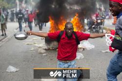 خۆپیشاندان لە هایتی