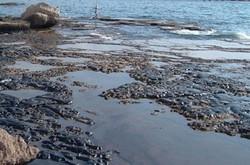لکه بزرگ نفتی در نزدیکی جزیره کیش مشاهده شد