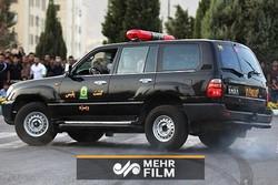 زمینگیری سارق حرفهای با شلیک مأموران پلیس