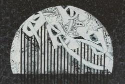 نمایشگاه نقاشیخط و آبستره در یزد گشایش یافت