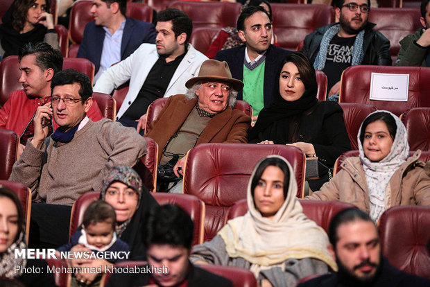 Closing ceremony of 37th Fajr Filmfest.
