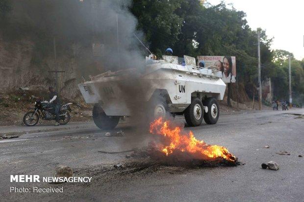 تظاهرات در هائیتی