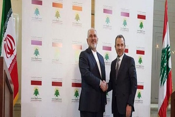 Zarif, Lebanese FM call for finding political solution to Syrian crisis