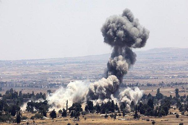 İsrail'den Suriye'ye yönelik İHA'lı saldırı