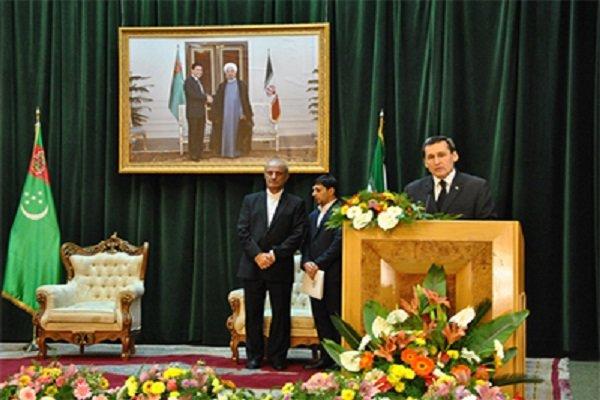 تبریک ویژه رییس جمهور ترکمنستان به مناسبت جشن پیروزی انقلاب