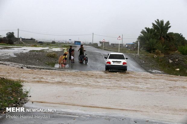 Floods in Hormozgan