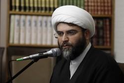 برقية تعزية من حجة الاسلام قمي لرحيل عبد العلي رحيمي
