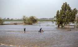 Flood hits 22 provinces, leaving 2 dead, 5 missing