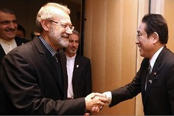 Iran-Japan relations built on cultural basis: Larijani