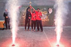 اختتامیه مسابقات ورزشی جام دهه فجر در خبرگزاری مهر